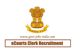 eCourts Clerk Recruitment 2020