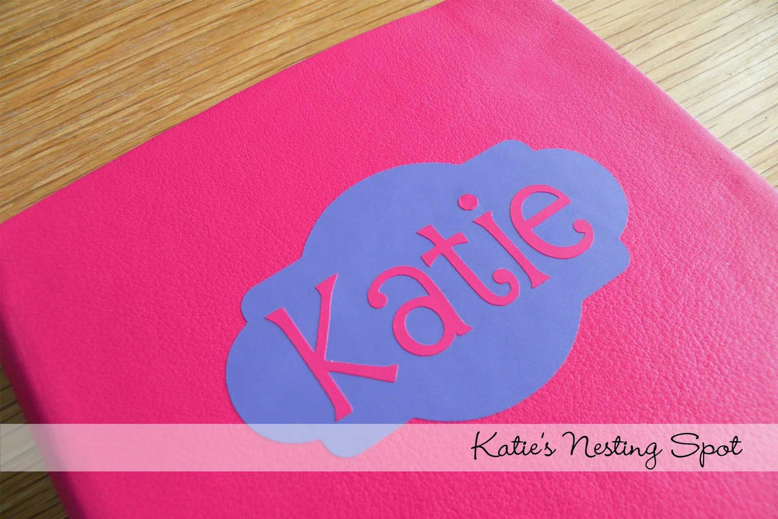 Katie's Nesting Spot: Make it Personal with Vinyl & Coupon