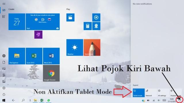 Cara Menampilkan Desktop Windows 10