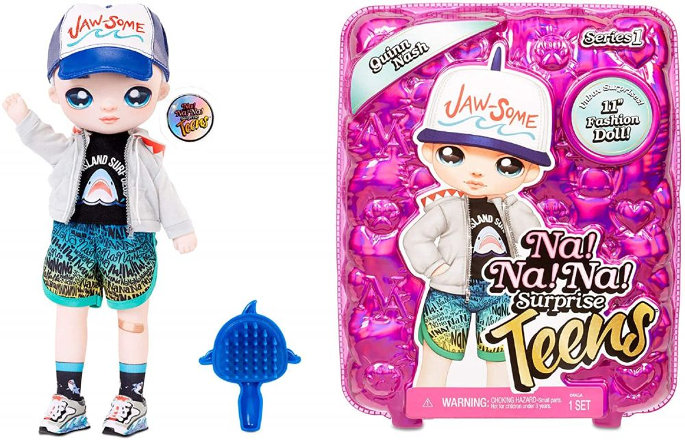 Кукла мальчик Quinn Nash NaNaNa Surprise Teens