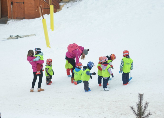 ski lessons for kids, snowbizz