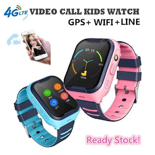 Jam Tangan Anak 4G VIDEO CALL GPS Smartwatch A36E Kids Smartwatch