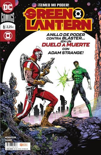 The Green Lantern vuelve a reinventar a Hal Jordan, con dibujos de Liam Sharp