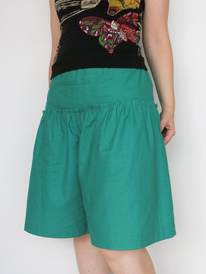 Culottes con Costurera de Retales