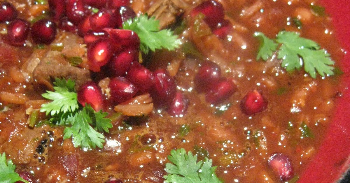 Morsels and Musings: persian pomegranate soup Persian Pomegranate Soup