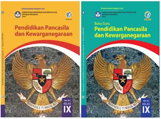 File Pendidikan Buku Guru dan Buku Siswa PPKN Kelas IX Kurikulum 2013 Revisi 2018