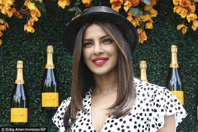 Priyanka Chopra wears polka-dotted sundress to the Veuve Clicquot Polo Classic