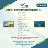 OFFSHORE BARGES JOBS  VACANCY - UAE