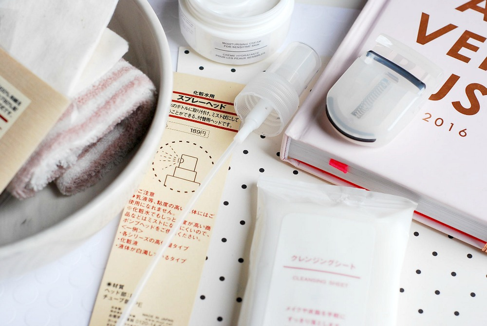 MUJI review skincare ingredients