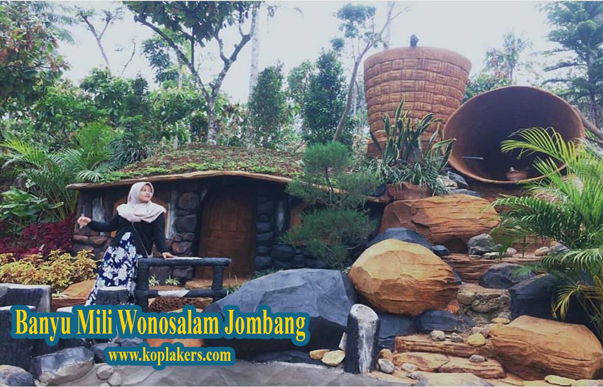 explore wisata baru di wonosalam jombang , wisata banyu mili