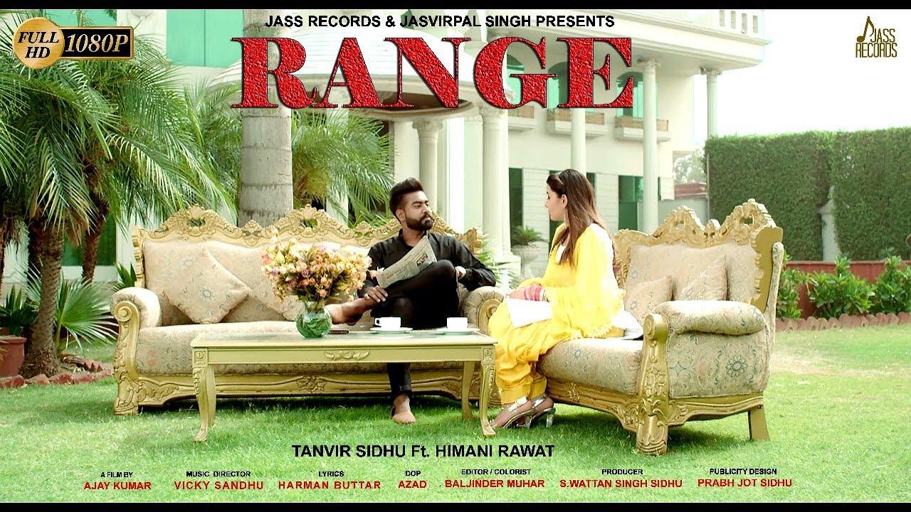 Range Lyrics, Tanvir Sidhu