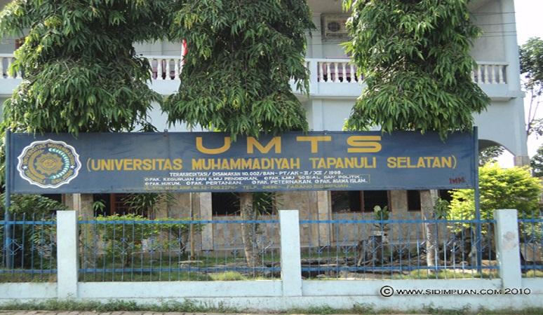 PENERIMAAN CALON MAHASISWA BARU ( UMTS/ UM TAPSEL ) 2018-2019 UNIVERSITAS MUHAMMADIYAH TAPANULI SELATAN
