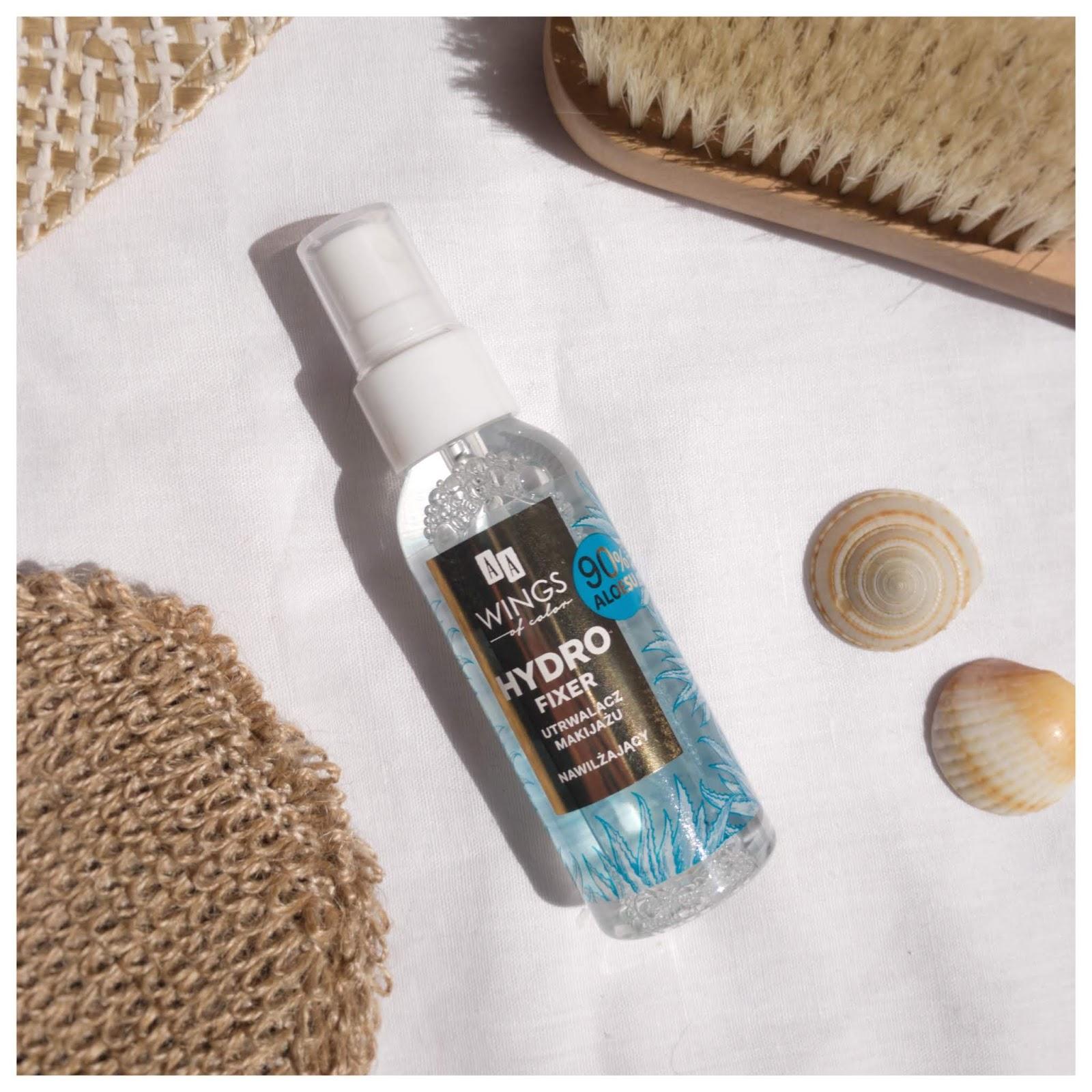Glowy makeup mist from drugstore – AA Hydro Fixer | Vegan & Cruelty-free