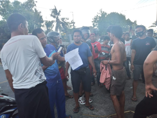Jukir Pasar Dorobata Ditangkap Polisi Karena Narkoba