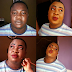 See Nollywood actor, Baba Tee wearing makeup ...photo