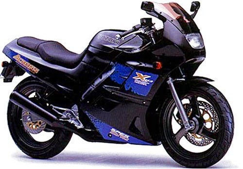 Suzuki GSX250F Across motorcycle 1991 Electrical    Wiring       Diagram      All about    Wiring    Diagrams
