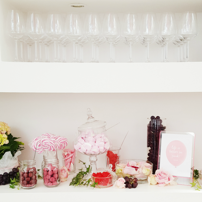 Caudalie - Vino Source #LifeisBetterinPink Blogger Event Candy Bar 2