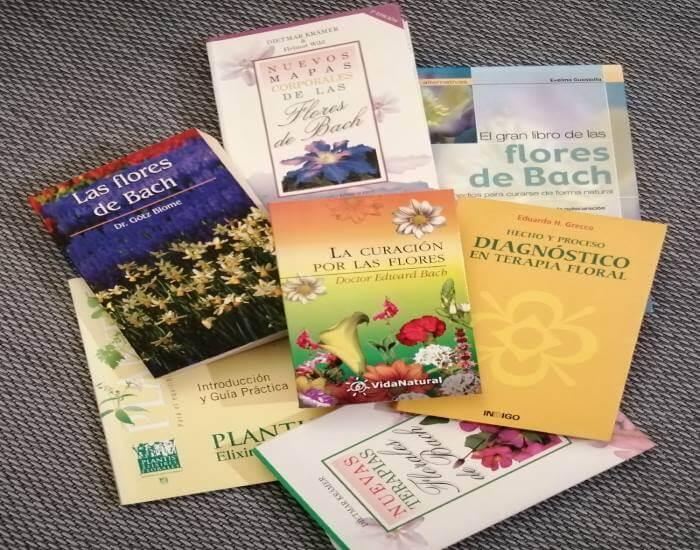 libros Flores de Bach