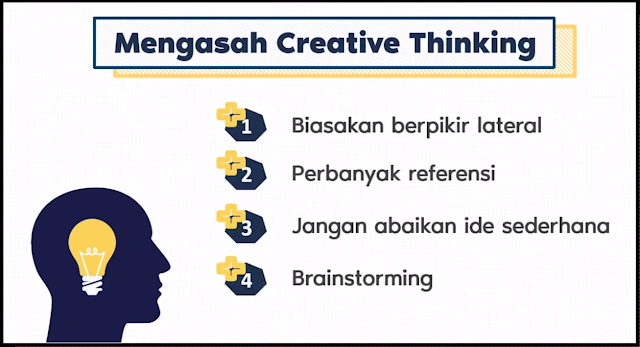 Cara Mengasah Creative Thinking