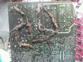 cara memperbaiki power supply komputer konslet