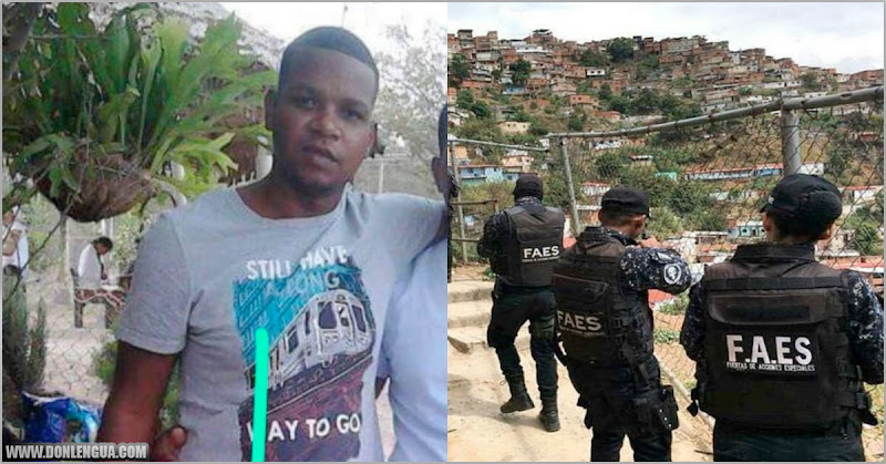 """CICPC lograron capturar y asesinar sin hacerle juicio a """"El Gusano"""" en Petare"""