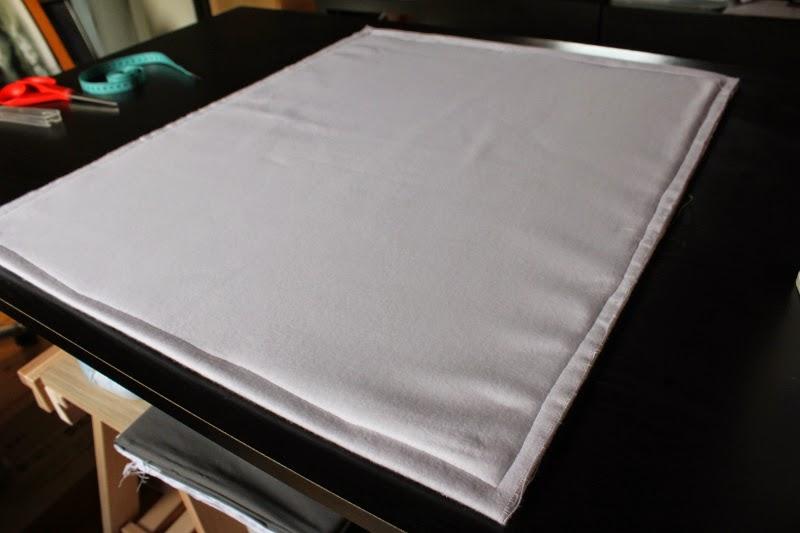 Saka d faire un tapis de repassage - Molleton pour table a repasser ...