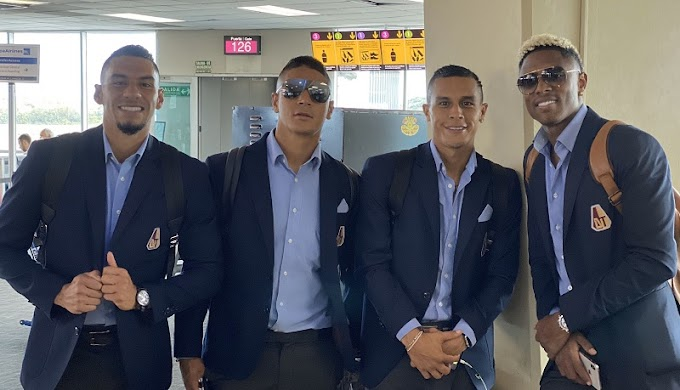 ¡Por la gloria! DEPORTES TOLIMA ya llegó a Portoalegre para la definición copera ante Internacional