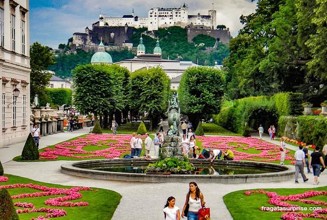 Jardim do Palácio Mirabell, Salzburgo