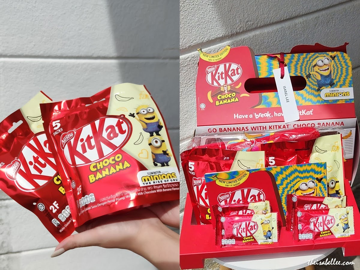 New Limited Edition KITKAT Choco Banana Flavour with Minions