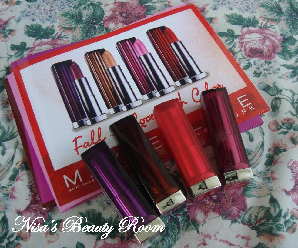 Review Maybelline Color Sensational Lipstick