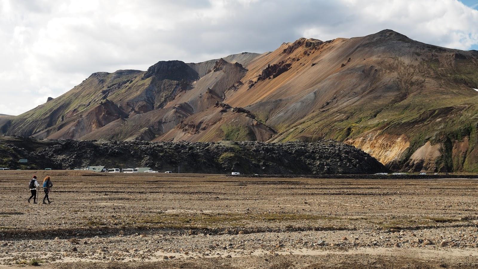 początek trasy w Landmannalaugar, Landmannalaugar