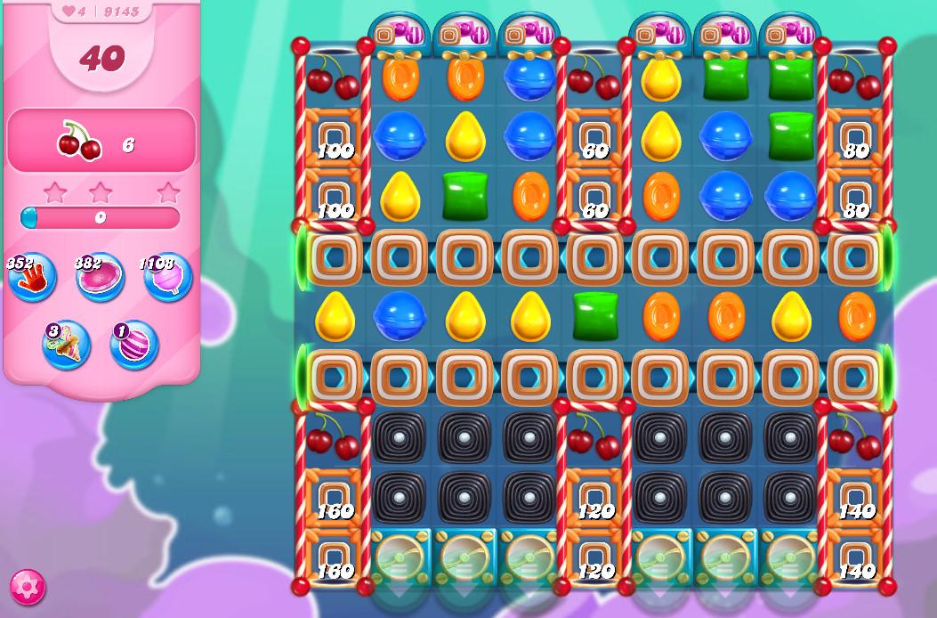 Candy Crush Saga level 9145