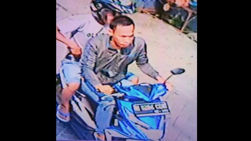 Wajah kedua pelaku dari CCTV