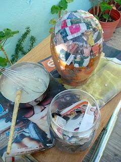 como hacer una piñata casera