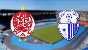 نتيجة مباراة الوداد الرياضي وإتحاد طنجة اليوم والقنوات الناقلة 10-09-2021 الدوري المغربي