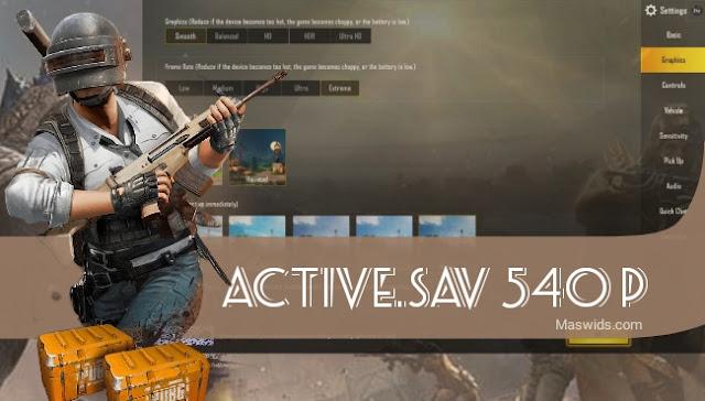 active.sav pubg terbaru 540p