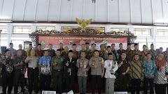 Forkompimda Kabupaten Batang Deklarasikan Pilkades Damai Dan Bermartabat Tanpa Money Politik