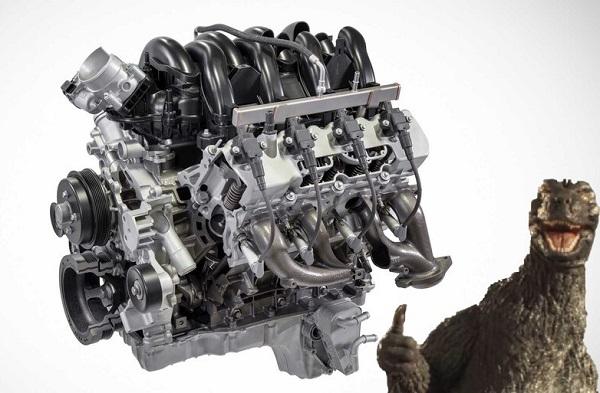 Motor Ford V8 Godzilla