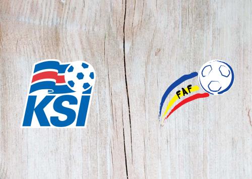 Iceland vs Andorra -Highlights 14 October 2019