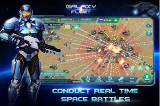 Games Galaxy Fleet: Alliance War Apk