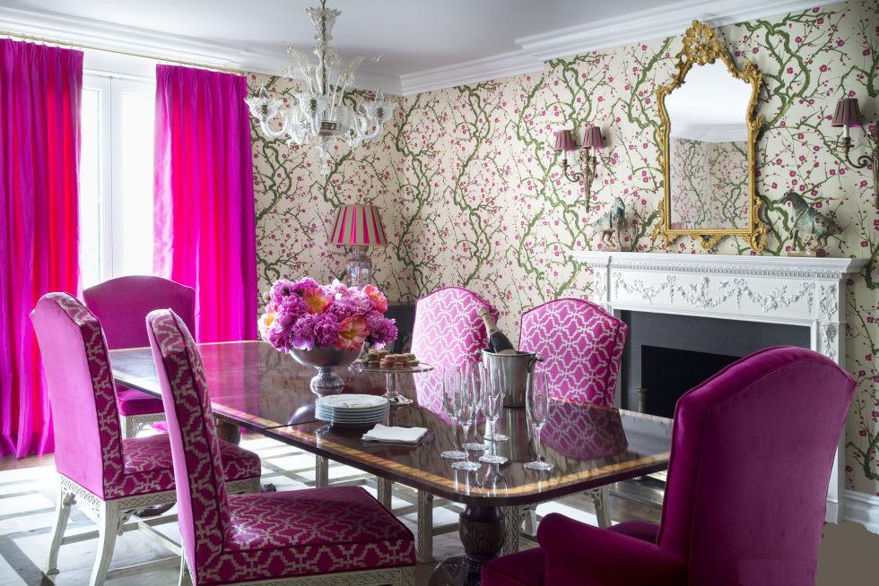 Hot Pink Curtain Ideas! RR Interiors