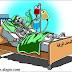 كاريكاتير واقع الصحف الورقية