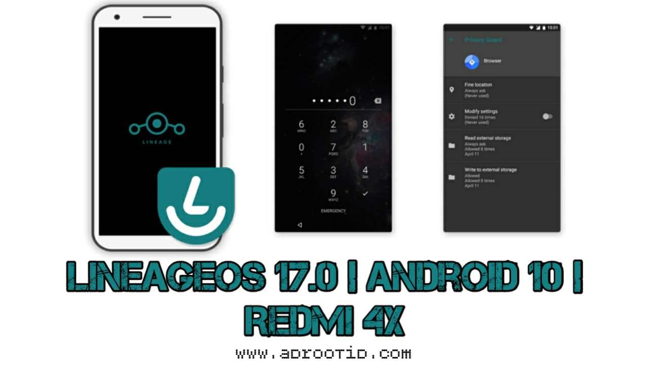 LineageOS 17.0 Redmi 4X