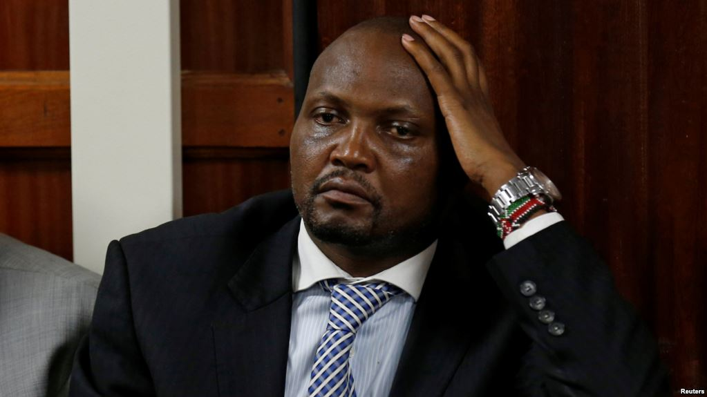 Moses Kuria Gets Roasted Online For His Theatrics