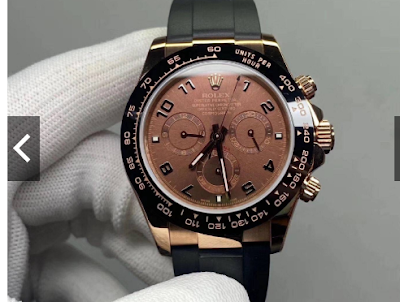 Jam tangan ROLEX 18K rose gold Rolex watch men