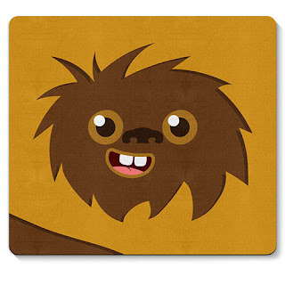 Mouse pad Ewoks Star Wars