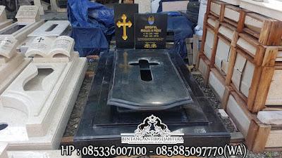 Model Makam Kristen Minimalis, Gambar Makam Kristen Modern, Desain Kuburan Katolik