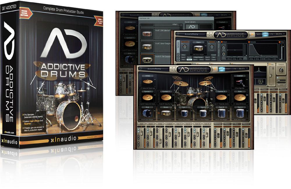 addictive drums download free sound vsti. Black Bedroom Furniture Sets. Home Design Ideas