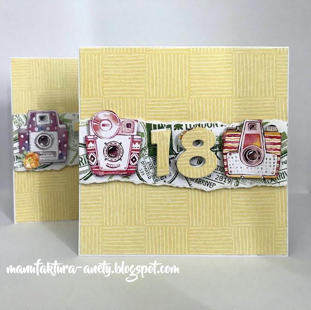 Urodzinowe kartki dla bliźniaczek