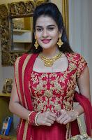 Jenny Honey in Stunning Dark Red Anarkali Dress at Splurge   Divalicious curtain raiser ~ Exclusive Celebrities Galleries 003.JPG